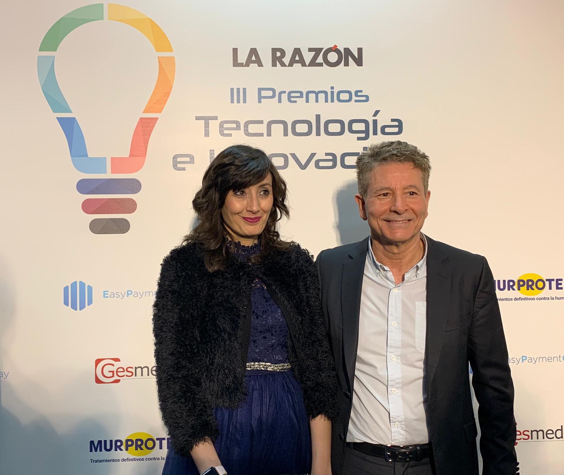 Medios que recogen la noticia sobre el galardón concedido por el diario la Razón en los III Premios de Tecnología e Innovación a Eurocoinpay